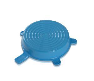 DURAN® Silicone lid, size XL, cyan