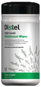 Disinfectant surface wipes, Distel