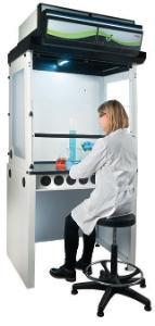 Ductless filtering fume hoods, Captair® Smart 392