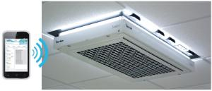 Laboratory air filtration system, Halo