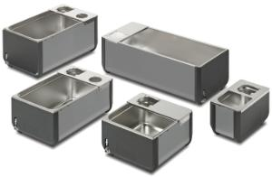 Baths and lids, stainless steel, ST series