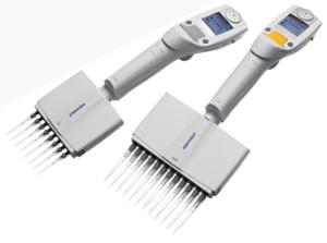 Multi-channel pipettes, electronic, variable volume, Eppendorf Xplorer plus®