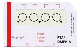 FTA® DMPK Cards, Whatman™