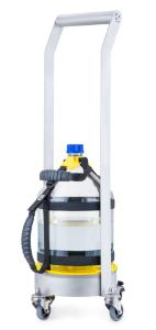 Duran® metal dolly for 10 L GL 45 bottle, stainless steel