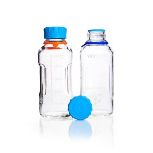 Youtility bottles, clear glass