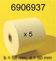 Paper rolls for printers
