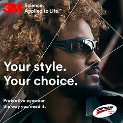 SecureFit™ 600 protective eyewear for better vision and comfort